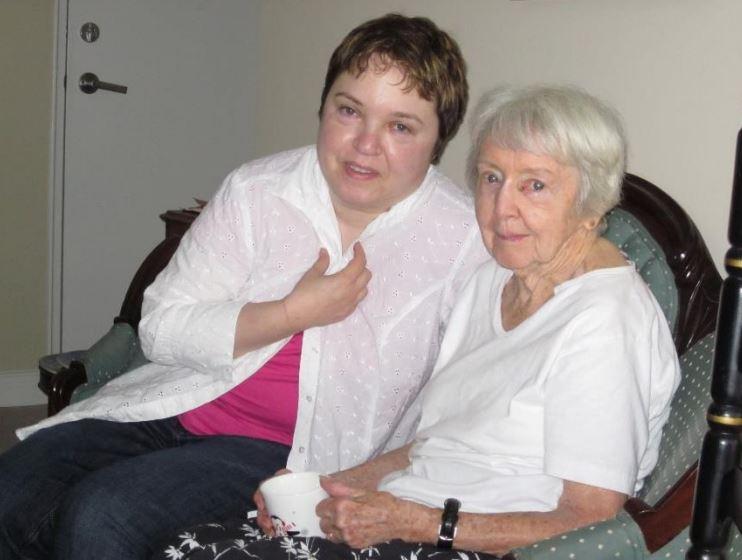 Linda Gargaro and Barbara Kane