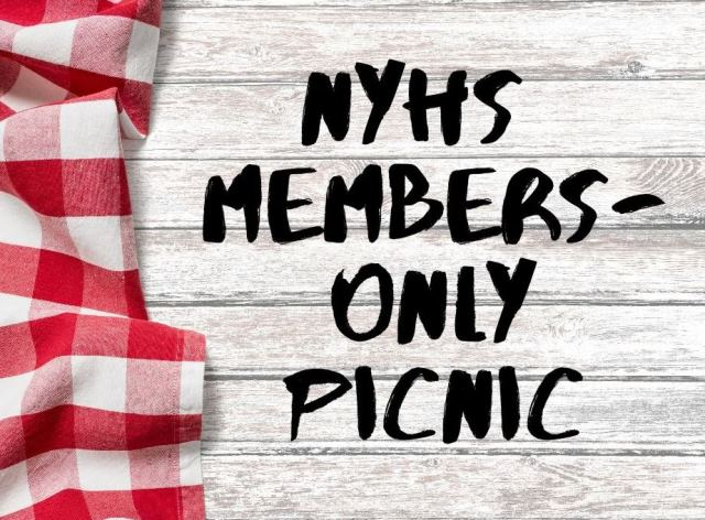 NYHS Members-Only Picnic
