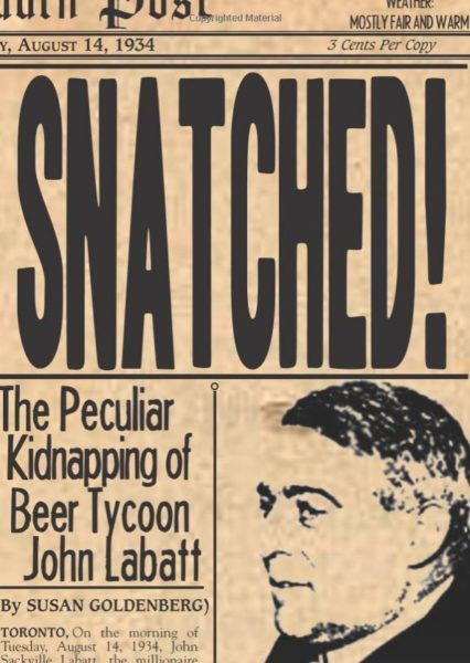 Snatched by Susan Goldenberg