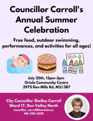 Ward 17 Annual Summer Celebration 2019