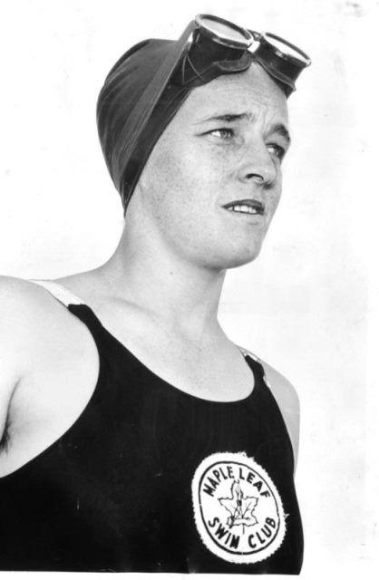 North York's Winnie Roach Leuszler, the first Canadian to swim the English Channel. - Toronto Star file photo
