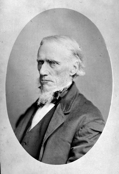 William Duncan III (1801-1886) built Dublin House at the corner of Sheppard and Dufferin in 1831. Courtesy Toronto Public Library.