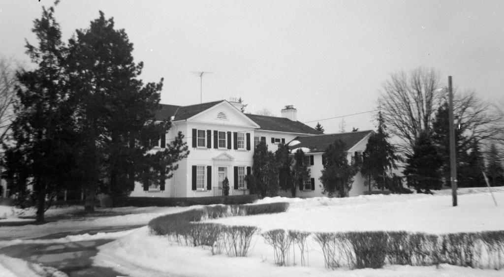 Home of Colonel Eric Phillips, date unknown (post-1943). Courtesy Toronto Public Library.