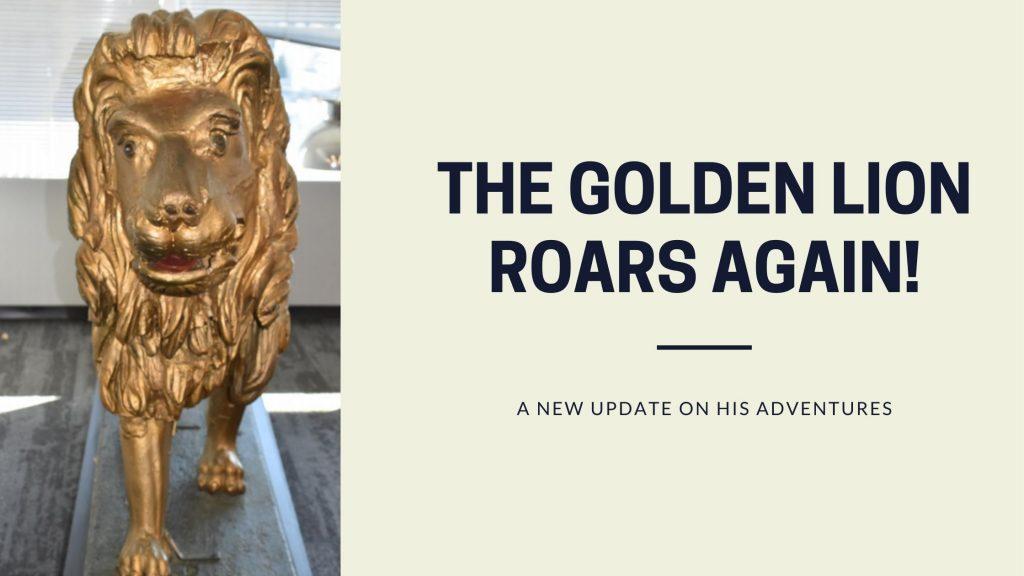 Golden Lion Roars Again Banner