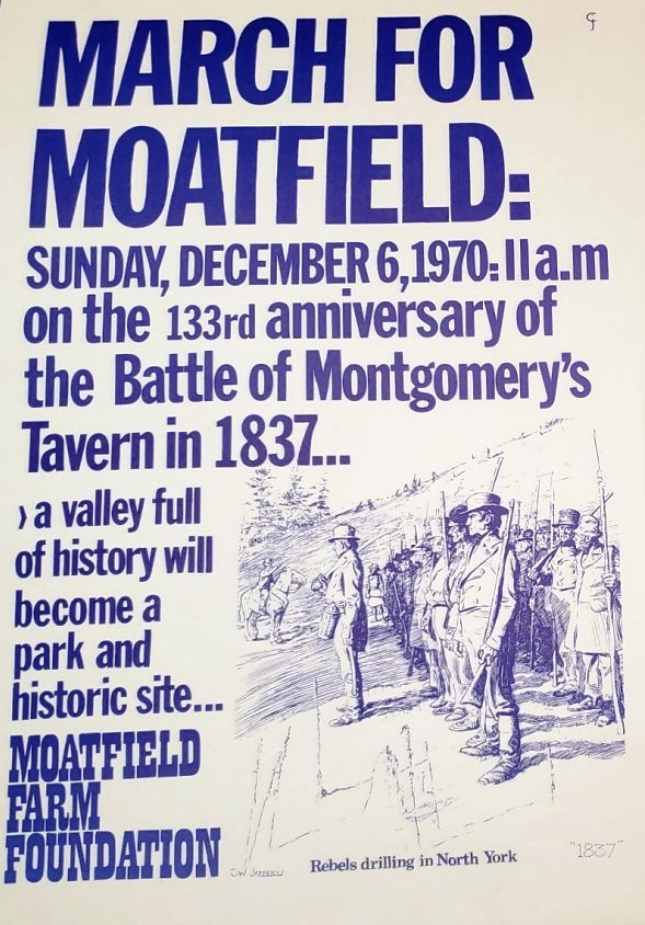March for Moatfield Poster
