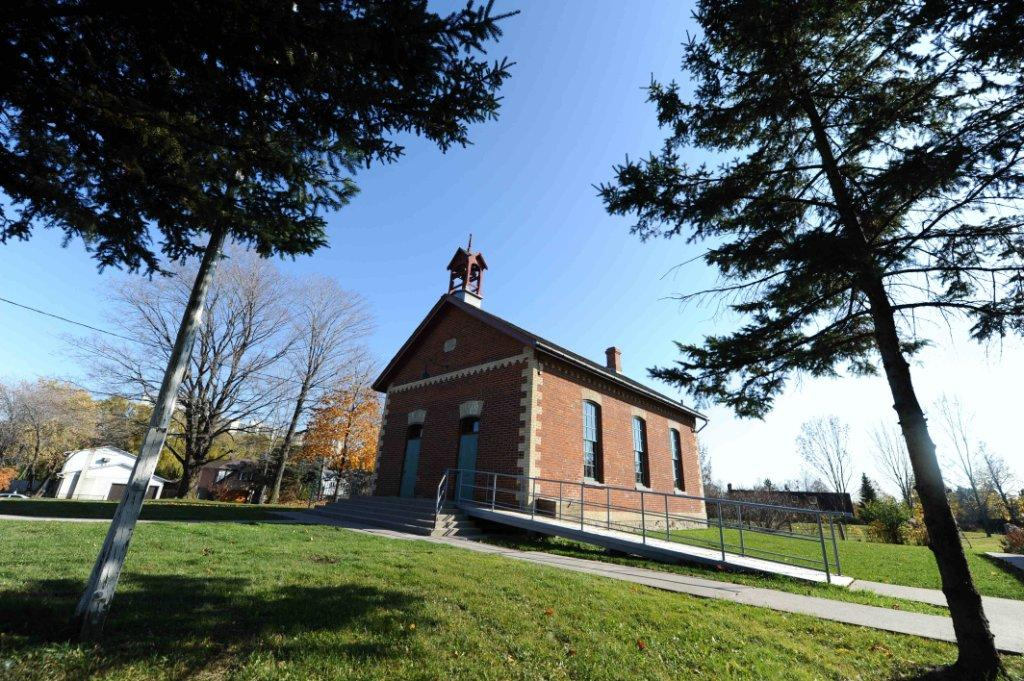 Zion Schoolhouse on Finch Avenue East, which is still preserved as a historic site, closed a couple of years before Oriole Public School. - Rick Eglinton/Toronto Star file photo