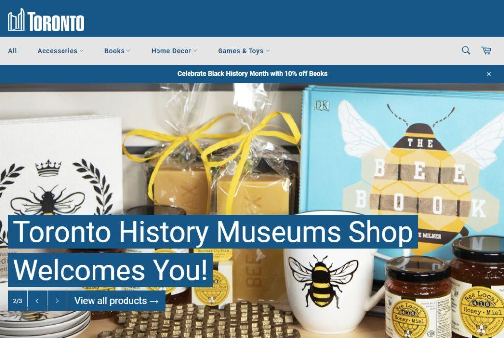 Toronto History Museums Shop